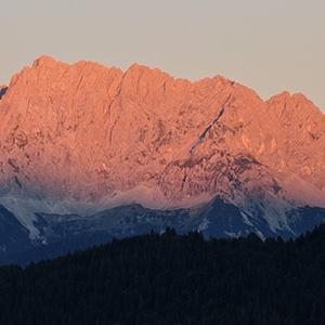 Ferienwohnungen Haus Karwendelblick Mittenwald Ferienwohnung Alpenglühen