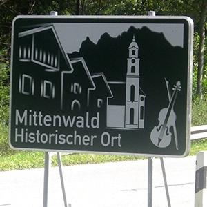 Ferienwohnungen Haus Karwendelblick Mittenwald Anreise und Lage